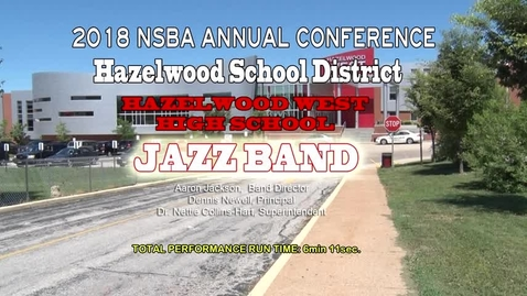 Thumbnail for entry West High Jazz Band