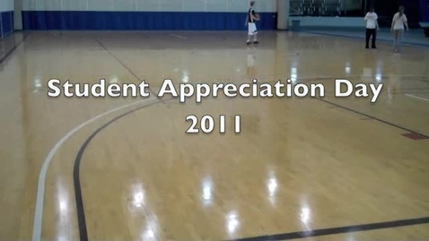 Thumbnail for entry Student Appreciation Day 2011