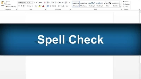 Thumbnail for entry Spell Check Feature - Read&Write Gold Version 11