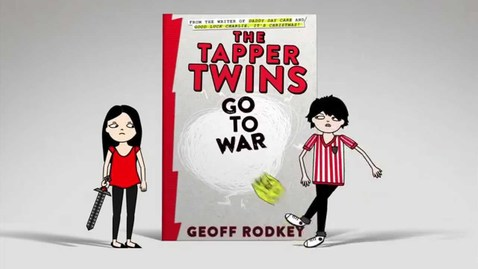 Thumbnail for entry The Tapper Twins Go to War (With Each Other) Book Trailer