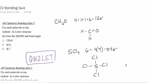 Thumbnail for entry AP Chem March 30 Video