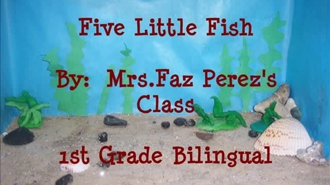 Thumbnail for entry Poem Five little Fish