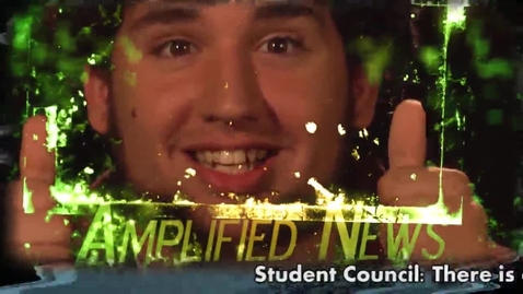 Thumbnail for entry Amplified News Presents: Announcements! 11-1-13