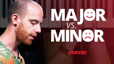 Thumbnail for entry Major Vs. Minor Chords. What's the difference?
