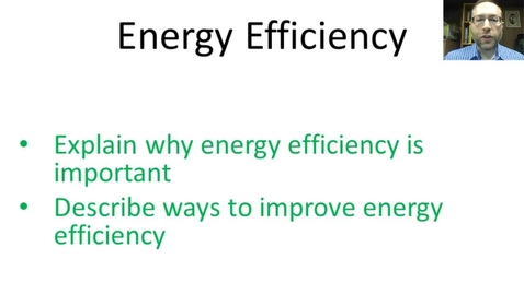 Thumbnail for entry Energy Efficiency
