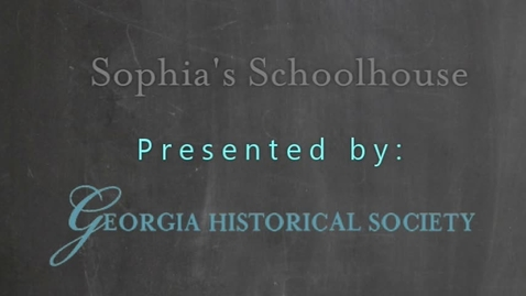 Thumbnail for entry Sophia's Schoolhouse Episode 010: Learning History From Plants