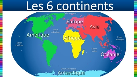 Thumbnail for entry Les continents