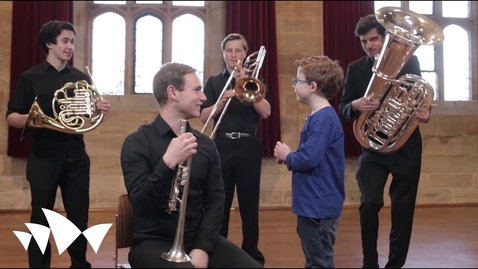 Thumbnail for entry George Meets the Orchestra | An Introduction to the Orchestra for Children