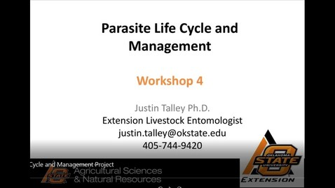Thumbnail for entry Meat Goat Parasite Life Cycle and Management