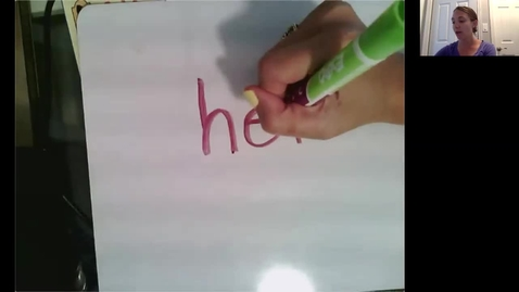 Thumbnail for entry Sight Words Week of 6/1