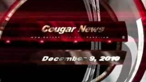 Thumbnail for entry Cougar News