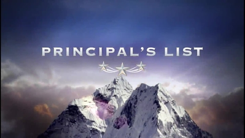 Thumbnail for entry Principal's List GO PRO TV Day 1
