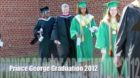 Thumbnail for entry Scenes from Graduation 2012