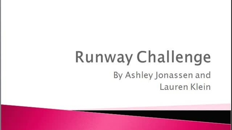 Thumbnail for entry Runway Challenge