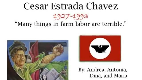 Thumbnail for entry Cesar Chavez Project
