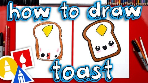 Thumbnail for entry How To Draw Funny Toast