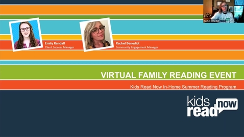 Thumbnail for entry 2020 Kids Read Now Virtual Family Reading Event