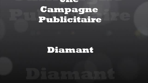 Thumbnail for entry Diamant advertisment