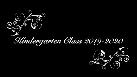 Thumbnail for entry Kindergarten Graduation 19-20_2