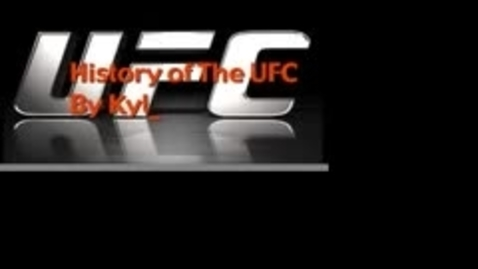 Thumbnail for entry UFC by Kyle Encalada