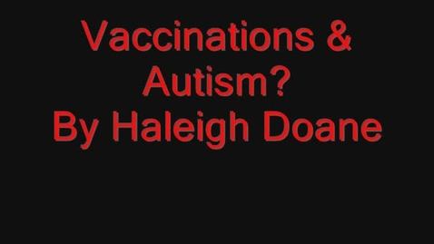 Thumbnail for entry Vaccines