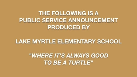 Thumbnail for entry Extreme Turtle Taking Care of Your Computer PSA