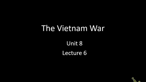 Thumbnail for entry US: Vietnam War