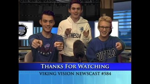 Thumbnail for entry VikingVisionNews 2-6-2020 #584