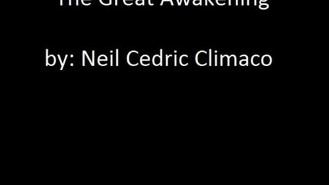 Thumbnail for entry The Great Awakening Neil 7RS