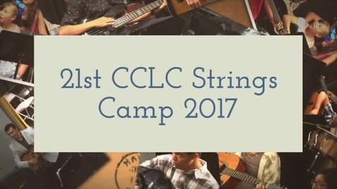 Thumbnail for entry 21st CCLC Strings Camp Concert