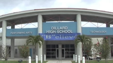 Thumbnail for entry Dillard High School