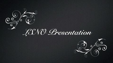 Thumbnail for entry LSNO presentation