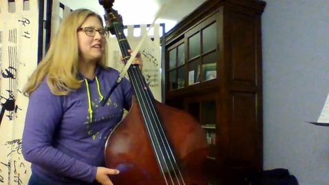 Thumbnail for entry BASS Essential Elements Bk 1 Pages 18-19 5th Grade