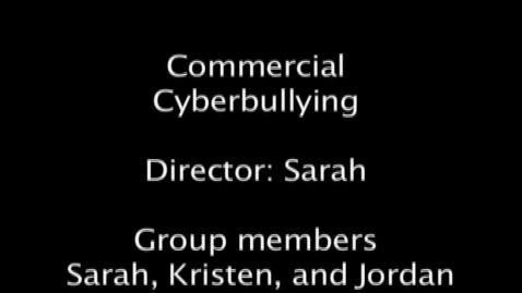 Thumbnail for entry Cyber-bullying PSA