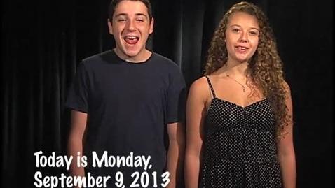 Thumbnail for entry Monday, September 9, 2013