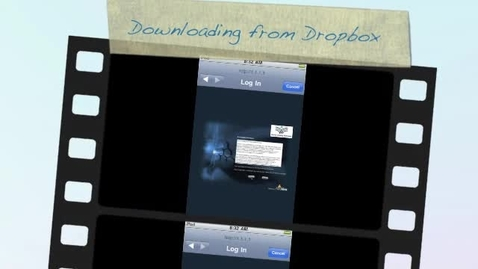 Thumbnail for entry iPod-Dropbox Tutorial 1