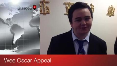Thumbnail for entry Wee Oscar Appeal at John Paul Academy