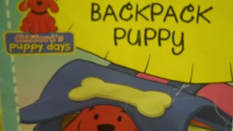 Thumbnail for entry Backpack Puppy