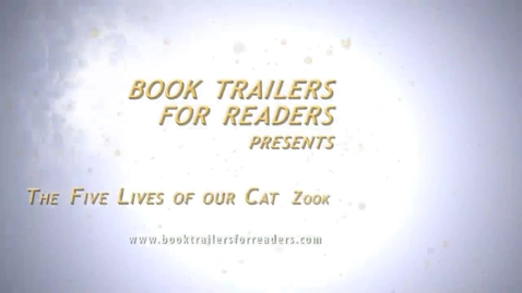 Thumbnail for entry The Five Lives of Our Cat Zook Book Trailer