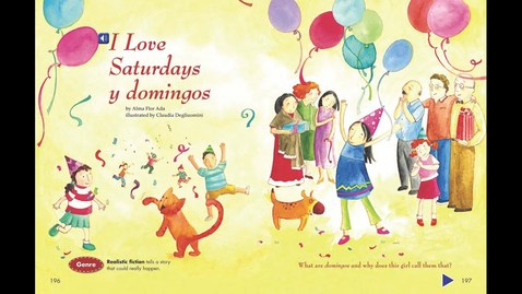 Thumbnail for entry I Love Saturdays y domingo