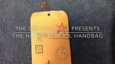 Thumbnail for entry Handy School Handbag