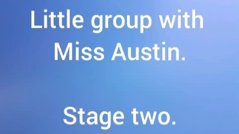 Thumbnail for entry POP! Little group with Miss Austin