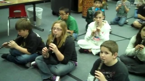 Thumbnail for entry Recorders in Unison, by JP Dabbs 5th graders, 2010