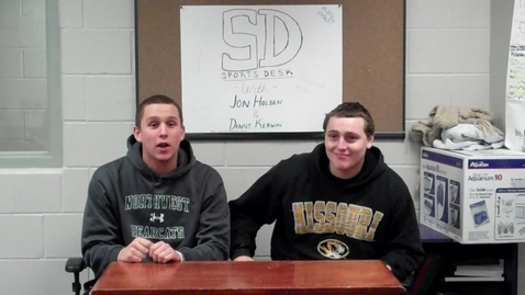 Thumbnail for entry Sports Talk at the Sports Desk: Episode 7
