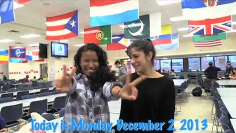 Thumbnail for entry Monday, December 2, 2013