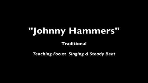 Thumbnail for entry Johnny Hammers