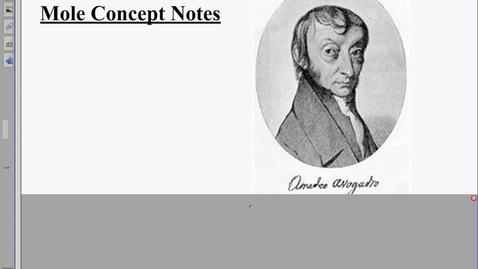 Thumbnail for entry Mole Concept Notes REGULAR