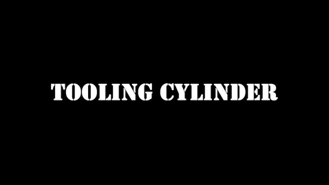 Thumbnail for entry Tooling Cylinder