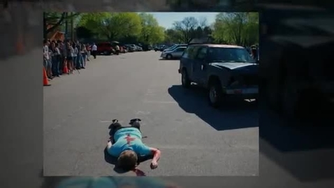 Thumbnail for entry Mock Car Crash 2011