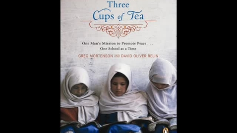 Thumbnail for entry Three Cups of Tea